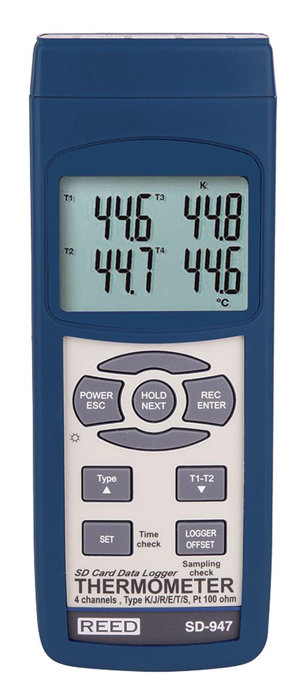 เครื่องวัดอุณหภูมิ REED Instruments SD-947